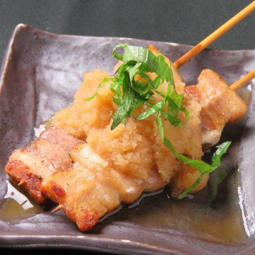 豚バラおろしポン酢